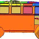 VDub Surfer Bus Single by Edward Fielding