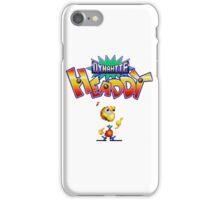 Dynamite Headdy - SEGA Genesis Title Screen iPhone Case/Skin