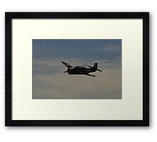 Old War Bird - Grumman Avenger Framed Print