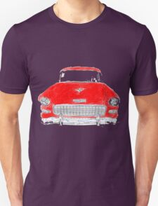 Vintage Red Chevy Unisex T-Shirt