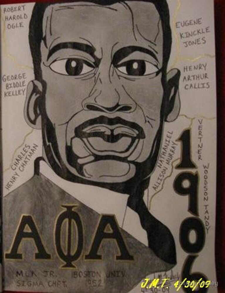 """MLK/ A PHI A"" by Joseph M. Tinsly  4/30/09 by Joseph Tinsley"