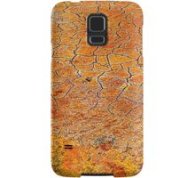 Cracked Mud along Salt Wash: Arches National Park Samsung Galaxy Case/Skin