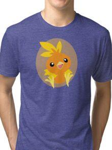 Torchic - 3rd Gen Tri-blend T-Shirt