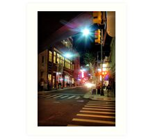 Greektown Art Print