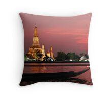 Wat Arun (The Temple Of Dawn) Throw Pillow
