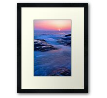 Aliso Beach Laguna California Framed Print