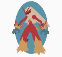 Blaziken - 3rd Gen by Missajrolls