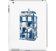 Splatter the TARDIS iPad Case/Skin