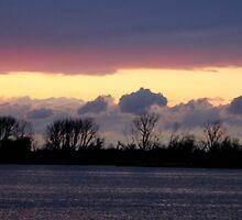 Sunset Island Painting LBNY IMG_9781 by KarenDinan