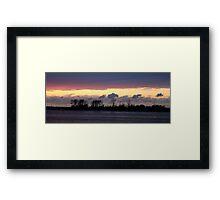 Sunset Island Painting LBNY IMG_9781 Framed Print