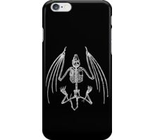 Vampire Bat Skeleton iPhone Case/Skin