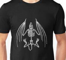 Vampire Bat Skeleton Unisex T-Shirt