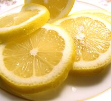 Lemony Lemon Slices by ©Maria Medeiros