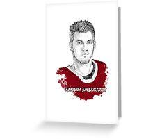 Zemgus Girgensons Greeting Card