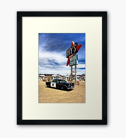 Car 54 Where Are You? Framed Print