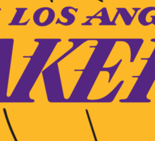 Los Angeles Lakers Sticker