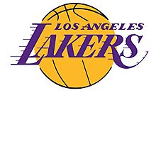 Los Angeles Lakers Photographic Print