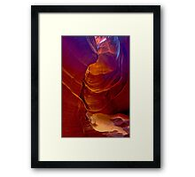 Antelope Canyon 3 Framed Print
