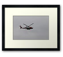 U.S. Coast Guard Helicopter Framed Print