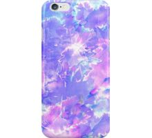 Pretty Pink, Purple, and Teal Watercolor Paint  iPhone Case/Skin