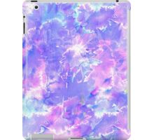 Pretty Pink, Purple, and Teal Watercolor Paint  iPad Case/Skin