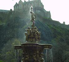Edinburgh Fountain by sdenis