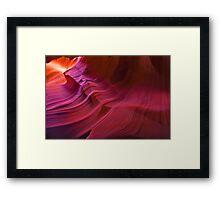 Antelope Canyon 7 Framed Print