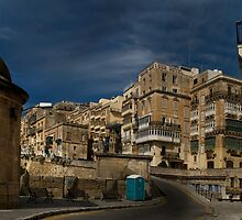 Valletta Malta East Upper Boundary by Edwin  Catania