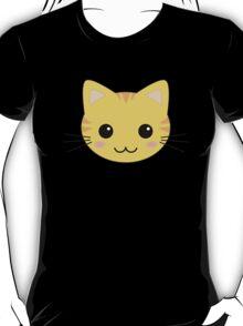 Cute Kawaii Yellow Tabby Cat T-Shirt
