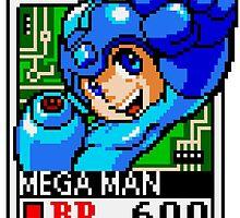 Megaman by Lupianwolf