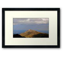 Mountaintop Framed Print