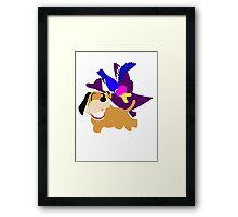 Super Smash Bros Duck Hunt Duo Framed Print