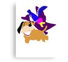 Super Smash Bros Duck Hunt Duo Canvas Print