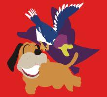 Super Smash Bros Duck Hunt Duo by Dalyz