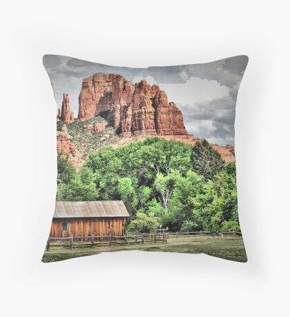 Out West Throw Pillow