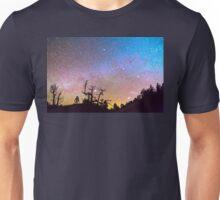 Galaxy Night Unisex T-Shirt