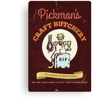 Pickman's Craft Butchery Canvas Print