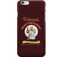 Pickman's Craft Butchery iPhone Case/Skin