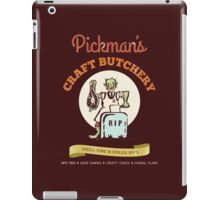 Pickman's Craft Butchery iPad Case/Skin