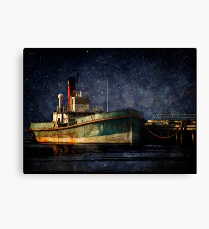 Home is the Sailor Canvas Print