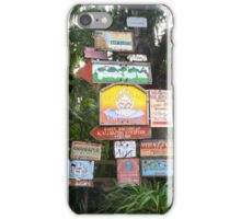 Animal Kingdom Signs iPhone Case/Skin