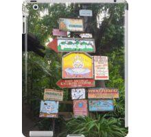 Animal Kingdom Signs iPad Case/Skin