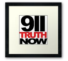 911 Truth Now Framed Print