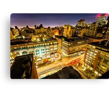 6 Ave Canvas Print