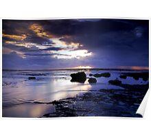 Sunrise Storm Poster
