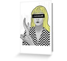 Laura Palmer - MEANWHILE Greeting Card