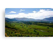 Crown Range NZ. Canvas Print