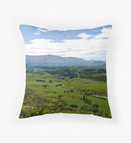 Crown Range NZ. Throw Pillow