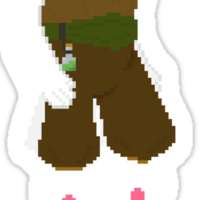 Pixel-Art Dawn 3 Sticker
