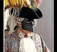 Carnival Mask Venice by Angelo Vianello